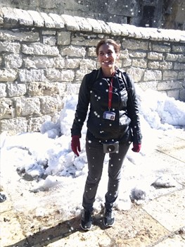 snow in betlehem